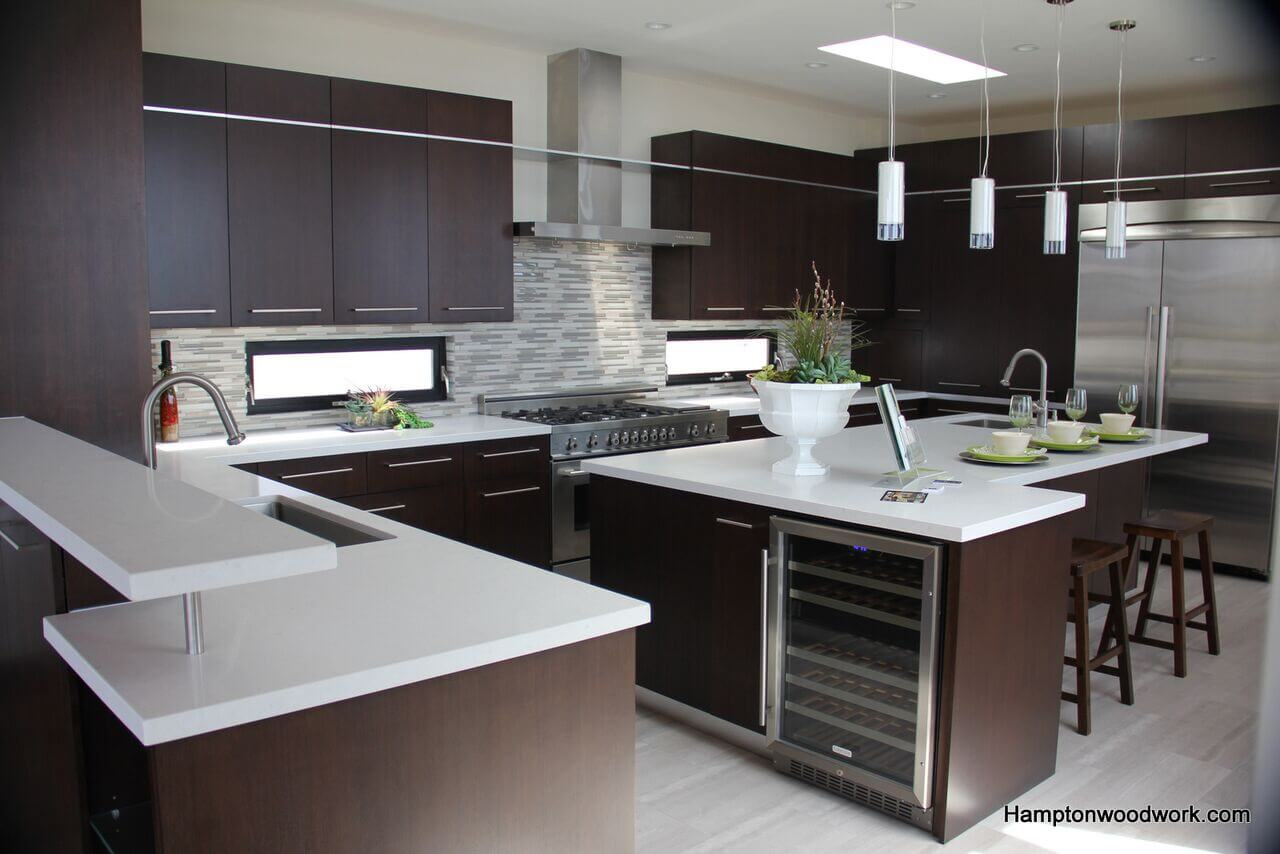 custom modern kitchen cabinets. A kitchen is said to be a core of house  and no complete without as it unites all the family members on daily occasional basis Custom Contemporary Modern Design in Los Angeles
